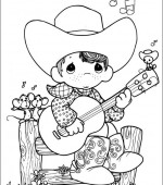 coloriage precious moments 008